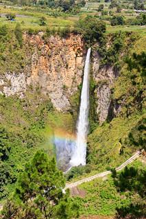 Sipiso Piso waterfall