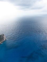 58270_712676470201_172010057_41956374_1432719_n (angelakourtes) Tags: travel blue trees sea mountains nature leaves islands europe exploring aegean adventure greece islandlife shadesofblue ionion bluezone islandlifeforme
