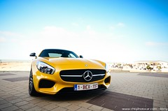 Mercedes-Benz AMG GT-S - Zoute Grand Prix 2015 (Rmy | www.chtiphotocar.com) Tags: yellow nikon belgium twin sigma grand prix event turbo knokke mercedesbenz supercar v8 sportscar amg gts lightroom heist zoute