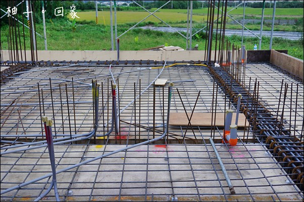 1樓板模隔間水電鋼筋完成14
