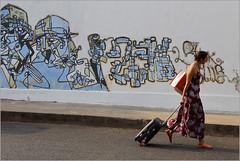 pondiart, pondicherry (nevil zaveri (thank you for 10million+ views :)) Tags: street people woman india art wall painting photography graffiti photo blog women photographer photos south stock images tourist luggage photographs photograph zaveri tamilnadu pondicherry stockimages nevil pondi puducherry nevilzaveri
