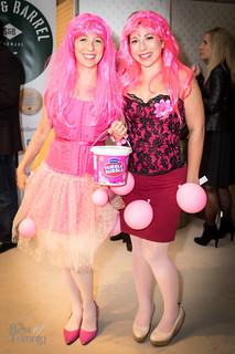 Bubble gum corsets