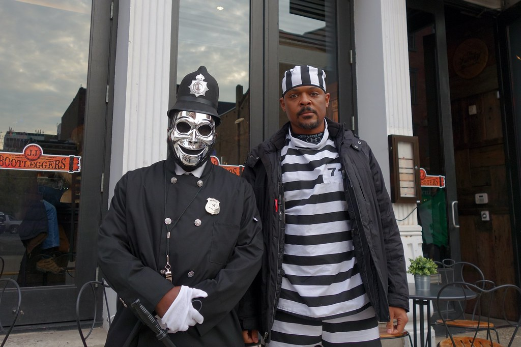 Officer and Prisoner (ViewFromTheStreet) Tags park street old city classic love philadelphia halloween  sc 1 st  Fiveprime & The Worldu0027s newest photos of costume and prisoner - Flickr Hive Mind