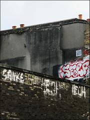 Self (Alex Ellison) Tags: self rooftop northlondon urban graffiti graff boobs lwi 406 uga