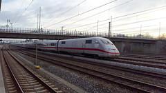 """ICE Tz 214 """"Hamm (Westfalen)"""", Mnchen-Hirschgarten, DEU (dolanansepur) Tags: railroad 2 ice speed train high br eisenbahn railway zug db german express bahn 402 intercity deutsche baureihe"""
