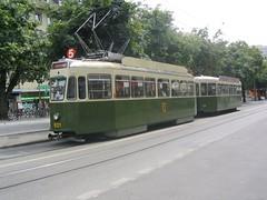 SVB (Bern) Be4/4 tram 621 (jc_snapper) Tags: switzerland tram bern streetcar sws berne strassenbahn tramvaj be44 svbbern