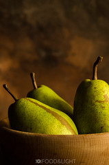 still life with pears III (Food Photography Studio) Tags: stilllife green fruits pears fresh pear unprocessed inbowl darkmood