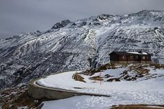 Furkapass (l@mie) Tags: schnee mountain snow mountains berg landscape switzerland natur landschaft hdr wetter furka realp