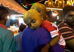 Portrait Of A Child Sleeping On His Father Shoulder In Batu Caves In Annual Thaipusam Religious Festival, Southeast Asia, Kuala Lumpur, Malaysia (Eric Lafforgue) Tags: boy sleeping men festival horizontal night religious outdoors asia southeastasia child indian religion shaved young belief event tired malaysia ritual kualalumpur spirituality devotee visiting hindu hinduism malaysian cultures pilgrimage sanctuary batu thaipusam hindi selangor fourpeople placeofworship 4people traveldestinations kl161
