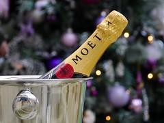 Aston Rowant, Oxfordshire (Oxfordshire Churches) Tags: christmas uk england france unitedkingdom champagne panasonic christmasdecorations christmastrees oxfordshire epernay baubles moetchandon motchandon mft astonrowant icebuckets micro43 microfourthirds lumixgh3 johnward