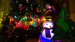 Merry Christmas - v2 (Juaberna) Tags: christmas tree arbol lights navidad snowman nieve merry mueco f28 14mm samyang