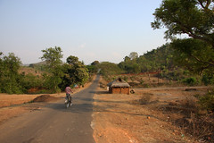 The tribal village of Bantalbiri, Odisha (sensaos) Tags: road trip travel people india bicycle rural countryside asia village traditional culture tribal tribe orissa cultural indigenous 2013 odisha sensaos