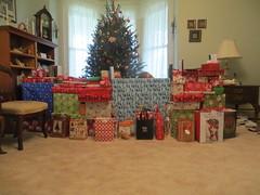 Christmas Wall 2015 (4) (R Hennessy) Tags: caitlin spaniel jenica