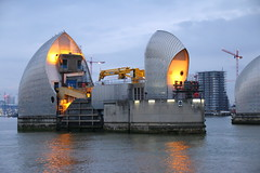 Thames Barrier 3 (Tony Howsham) Tags: london thames barrier canon eos70d sigma 18250 os landscape city