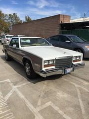 1982 Cadillac Eldorado (smokuspollutus) Tags: 1982 cadillac eldorado two tone beige white