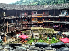 Life at Tulou (cattan2011) Tags: travelblogger traveltuesday travel china building architecture landscapephotography landscape   nanjingtulou