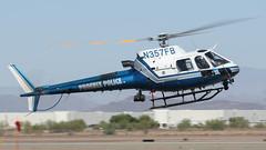 Phoenix PD Eurocopter AS350 B3 N357FB 'Firebird 7' (ChrisK48) Tags: firebird7 2010 cityofphoenix eurocopteras350b3 kdvt n357fb phoenixpd phoenixaz phoenixdeervalleyairport aircraft helicopter dvt astar police
