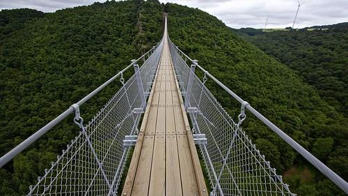 Hängeseilbrücke (Hanging Bridge) Geierlay