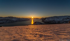 The Sun (Dan F Skovli) Tags: canon ngc samyang canon6d norge norway nordnorge kvnangen jkelfjord winter vinter ski randonee dybafit dynafit zagskies g3 frost sunset sun color nice utptur utinaturen skitur puls nature snow