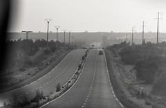 Road_Essaouira to Marrakesh (Christian Cardenal) Tags: canon 500d rebelt1i morocco summer holidays road blackandwhite blackwhite blanconegro blancoynegro landscape