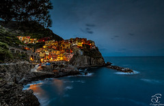 Color Before Dark (BeNowMeHere) Tags: ifttt 500px trip benowmehere cinque terre colorbeforedark colours italy landscape nature sky sunset color colorful colors colourful seascape travel cinqueterre