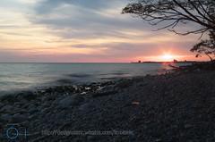 Mystic Sunset (Kobie M-C Photography) Tags: sunset lakeontario lake ontario slowshutter mystic fallseason autumn lowangle depthoffield pentaxian pentax k30