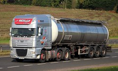 DAF XF - Walter REILLY Ballybofey Co.Donegal ROI (scotrailm 63A) Tags: lorries trucks tankers