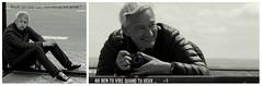 Chanson d'occasion (Et si, et si ...) Tags: anniversaire ddicace jeanluc penses portraits monochrome