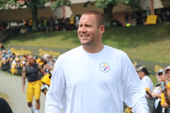 Ben Roethlisberger (1027jen) Tags: benroethlisberger pittsburgh steelers trainingcamp stvincentcollege football