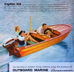 1960s Boat Ad (Christian Montone) Tags: ads advertising vintageads adverts vintage print printads