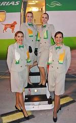 Binter-Canarias-Air-Hostesses (Mechelen op zijn Best) Tags: luchthaven airport aeropuerto lufthafen laspalmas grancanaria bintercanarias reizen reisen travelling viajar vliegtuig flugzeug airplane avin