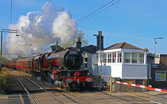 6201 (keith-v) Tags: 6201 steam princess elizabeth cathedrals express roydon 1z82 main line