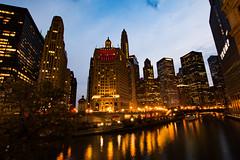 City Light's 1 (ingbalfaro) Tags: chicago michiganave usa trump skyscrapper goldenhour street