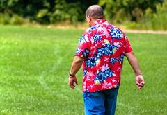 born to be wild.... (Stu Bo.. tks for 8 million views) Tags: rebel hawaii florida floral wild goforit sbimageworks shirt vivid man colorful cool pride