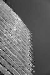 Torre del Agua #3 (Jannik K) Tags: zaragoza aragn spanien spain architecture architektur saragossa samsung nx1 bw sw black white schwarz weis