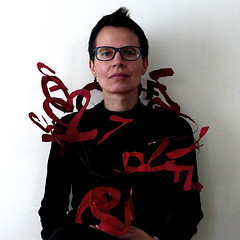 self with ID Code (Ines Seidel) Tags: jewelry jewellery numbers letters code identity passport self selfportrait selbstporträt selbst zahlen buchstaben personalausweis identität pass red rot