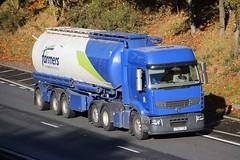 RENAULT Premium - for Farmers Wherstead (scotrailm 63A) Tags: lorries trucks tankers