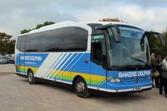 Bakers, Weston-super-Mare 791 WHT, Mercedes Tourino in Cheltenham (majorcatransport) Tags: somersetbuses bakerswestonsupermare mercedesbenz mercedestourino cheltenham