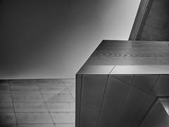 Geometry (Stadt_Kind) Tags: olympuscamera getolympus olympus124028pro olympusem10markii stadtkind europe germany bavaria münchen munich bmwworld bmwwelt urbex urban fassade modern abstract abstrakt lines geometry building monochrom schwarzweiss blackandwhite noiretblanc architecture architektur architecturephotography minimalism minimalismus
