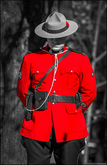 Mountie Remembers (Rodrick Dale) Tags: mountie royal canadian mounted police uniform remembrance day sunnybrook poppy toronto ontario canada