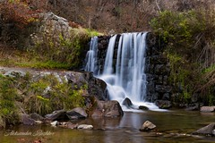 Another point of view from a small waterfall in Bunovska river near Sofia Bulgaria. (aleksandarbozhkov) Tags: river longexposure mountain leafs smoothwater water trees forest nautre amazingview waterfall countryside