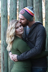Caroline & James (T i f f a n y K a y) Tags: 50 mm 18 canon xsi dusk potrait outdoorlight love fall country couple vape