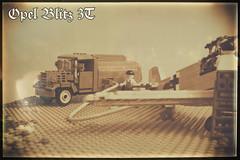 Opel Blitz 3 Ton fuel truck (kr1minal) Tags: lego german nazi wwii moc brickmania truck opoel blitz messershmit