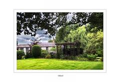 Gilsland (DeeGee1966) Tags: cumbria gilsland landscape gardens infraview fujifinepixs3300 buildings chocolatebox hdr blended orton effect