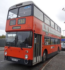 Dewsbury (Andrew Stopford) Tags: a706lnc leyland atlantean northerncounties dewsburybusmuseum gmpte gmbuses