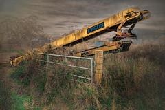 Retired conveyor (cornishdave) Tags: farmmachinery conveyor
