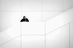 Above... (ronperry811) Tags: portrait minimal bw symmetry blackwhite topaz simplysuperb