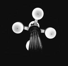 Black and Light (ajecaldwell11) Tags: lamp hawkesbay newzealand ankh black simple dof caldwell blackandwhite light