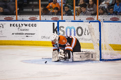 "Missouri Mavericks vs. Fort Wayne Komets, November 11, 2016.  Photo: John Howe/ Howe Creative Photography • <a style=""font-size:0.8em;"" href=""http://www.flickr.com/photos/134016632@N02/30946923916/"" target=""_blank"">View on Flickr</a>"