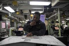 161130-N-JH293-115.jpg (CTF 76) Tags: amphibious force ussgb greenbay ussgreenbay lpd20 japan sasebo bhr ctf76 forwarddeployed us7thfleet pacific ocean water navy ship sailors wisconsin packers jpn